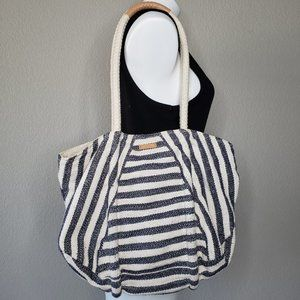 TOMS | Nautical Boho Striped Rope Bag Purse Tote